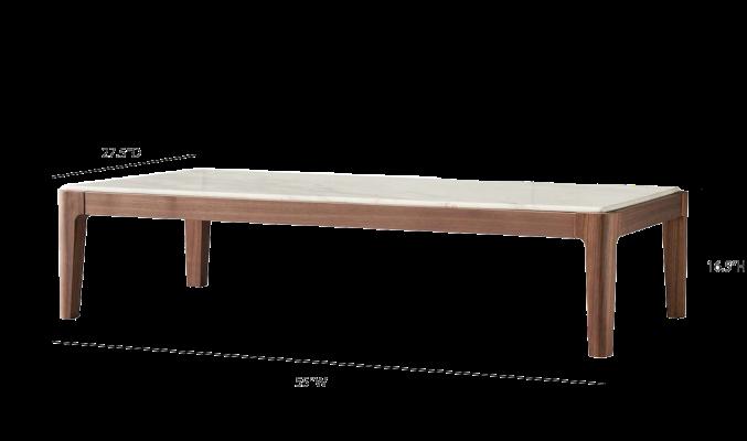 卡昂咖啡桌测量