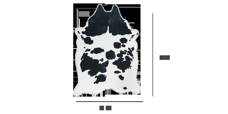 牛皮地毯规格